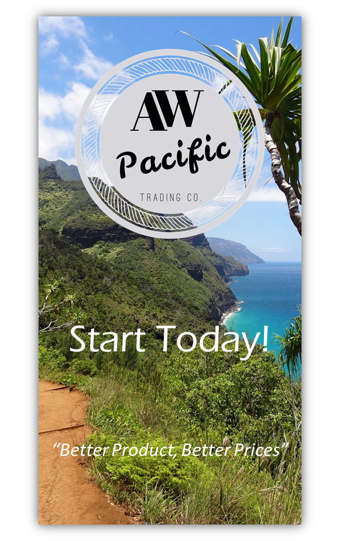 Start with AW Pacific Trading Today!